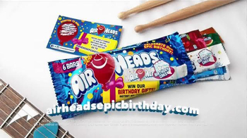 Airheads TV Spot, 'Epic Birthday Song' Song by Unlocking the Truth - Thumbnail 7
