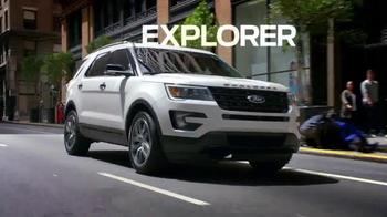 2016 Ford Explorer TV Spot, 'Unstoppable' - Thumbnail 3