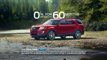 2016 Ford Explorer TV Spot, 'Unstoppable' - Thumbnail 7