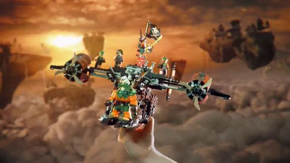 LEGO Ninjago Jay's Elemental Dragon TV Commercial, 'Reclaim the Skies' -  Video