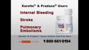 The Monsour Law Firm TV Spot, 'Xarelto and Pradaxa Users' - Thumbnail 2