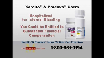The Monsour Law Firm TV Spot, 'Xarelto and Pradaxa Users' - Thumbnail 3