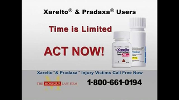 The Monsour Law Firm TV Spot, 'Xarelto and Pradaxa Users' - Thumbnail 4
