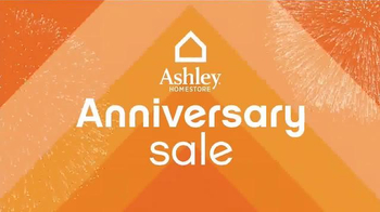 Ashley Furniture Homestore Anniversary Sale TV Spot, 'Hundreds of Items' - Thumbnail 1