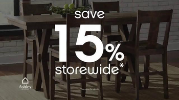 Ashley Furniture Homestore Anniversary Sale TV Spot, 'Hundreds of Items' - Thumbnail 2