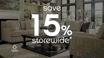 Ashley Furniture Homestore Anniversary Sale TV Spot, 'Hundreds of Items' - Thumbnail 6