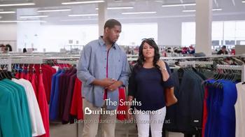 Burlington Coat Factory TV Spot, 'The Smiths' - Thumbnail 1