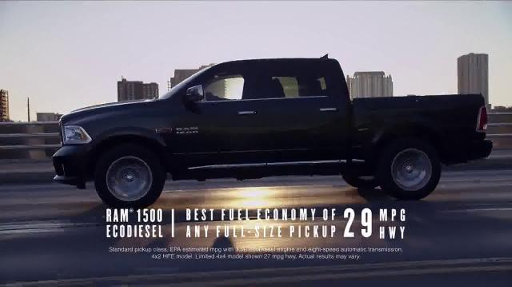 Ram Truck Month TV Commercial, 'Urban Race: 1500' Song by Pop Evil