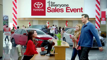 Toyota 1 for Everyone Sales Event TV Spot, 'Back-Up Camera' - Thumbnail 1