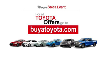 Toyota 1 for Everyone Sales Event TV Spot, 'Back-Up Camera' - Thumbnail 7
