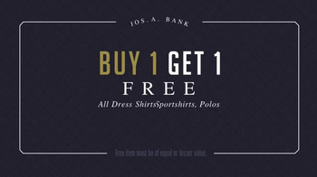 JoS. A. Bank Stock-Up Sale TV Spot, 'Suits, Polos and More' - Thumbnail 3