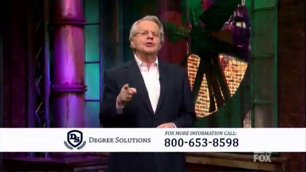 Degree Solutions TV Commercial, 'Did You Know?' Featuring Jerry Springer