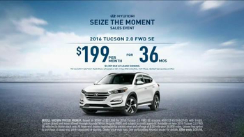 Hyundai Seize the Moment Sales Event TV Spot, 'SUV Combo' - Thumbnail 9