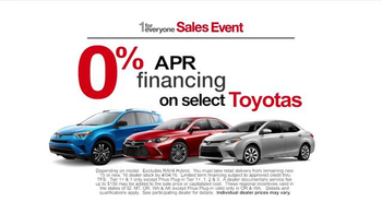 Toyota 1 for Everyone Sales Event TV Spot, 'Errands' - Thumbnail 6
