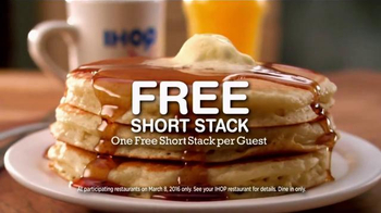 IHOP National Pancake Day TV Spot, 'Children's Miracle Network' - Thumbnail 3