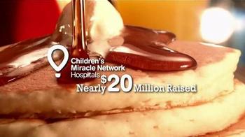 IHOP National Pancake Day TV Spot, 'Children's Miracle Network' - Thumbnail 4