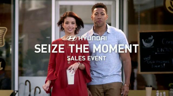 Hyundai Seize the Moment Sales Event TV Spot, 'Sedan Combo'