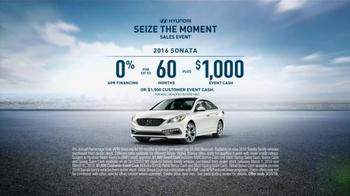 Hyundai Seize the Moment Sales Event TV Spot, 'Sedan Combo' - Thumbnail 9