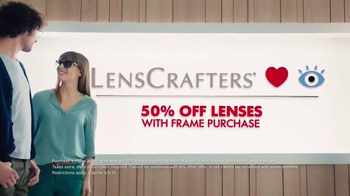 LensCrafters TV Spot, 'Lenses and Frames' - Thumbnail 6