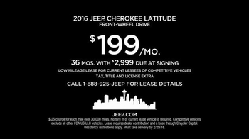 2016 Jeep Cherokee Latitude TV Spot, 'Emerald City: Landscape' - Thumbnail 10
