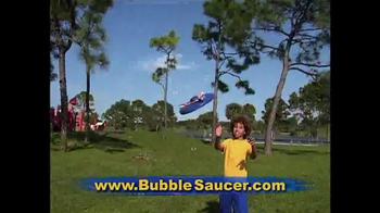 Bubble Saucer TV Spot, 'The Amazing Flying Bubble Machine'