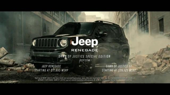 Jeep Renegade Special Edition TV Spot, 'Dawn of Justice: Into the Storm' - Thumbnail 6