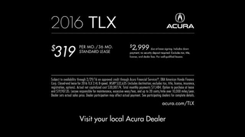 2016 Acura TLX TV Spot, 'Giddy Up' Song by Bishop Briggs - Thumbnail 7