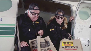 Dickey's BBQ Catering TV Spot, 'Parachute' - 2 commercial airings