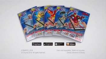 Crayola Color Alive TV Spot, 'Avengers' - Thumbnail 10