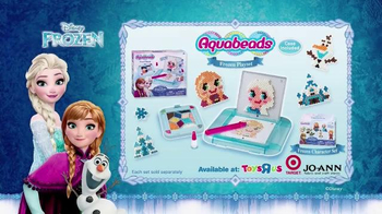 Aquabeads Frozen Playset TV Spot, 'Anna and Elsa' - Thumbnail 7
