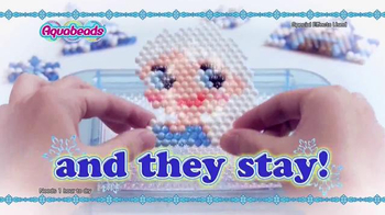 Aquabeads Frozen Playset TV Spot, 'Anna and Elsa' - Thumbnail 3