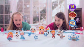 Aquabeads Frozen Playset TV Spot, 'Anna and Elsa' - Thumbnail 6