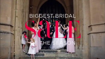 David's Bridal Biggest Bridal Sale TV Spot, 'Original Prices Cut' - Thumbnail 2