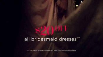 David's Bridal Biggest Bridal Sale TV Spot, 'Original Prices Cut' - Thumbnail 7