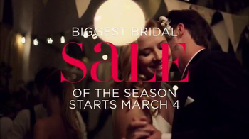 David's Bridal Biggest Bridal Sale TV Spot, 'Original Prices Cut' - Thumbnail 9