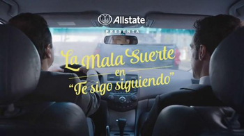 Allstate TV Spot, 'Mala Suerte: Te Sigo Siguiendo' [Spanish] - Thumbnail 1