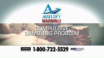 Norris Injury Lawyers TV Spot, 'Abilify' - Thumbnail 2