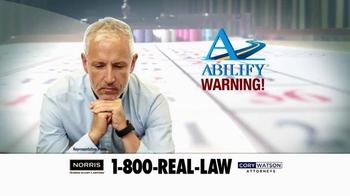 Norris Injury Lawyers TV Spot, 'Abilify' - Thumbnail 3