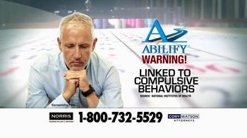 Norris Injury Lawyers TV Spot, 'Abilify' - Thumbnail 4