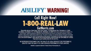 Norris Injury Lawyers TV Spot, 'Abilify' - Thumbnail 6