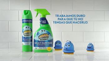 Scrubbing Bubbles Bathroom Cleaner TV Spot, 'Video viral' [Spanish] - Thumbnail 10