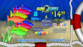 Glow Sharks TV Spot, 'Bath Time and Pool Time' - Thumbnail 8