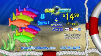 Glow Sharks TV Spot, 'Bath Time and Pool Time' - Thumbnail 6
