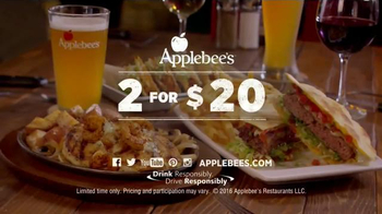 Applebee's 2 for $20 Fan Favorites TV Spot, 'Bourbon Street' - Thumbnail 9