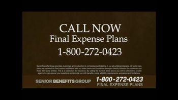 Senior Benefits Group TV Spot, 'Final Expense Plans' - Thumbnail 10