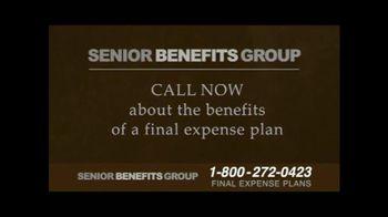 Senior Benefits Group TV Spot, 'Final Expense Plans' - Thumbnail 2