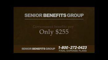 Senior Benefits Group TV Spot, 'Final Expense Plans' - Thumbnail 3
