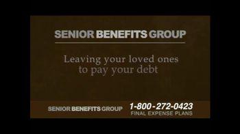 Senior Benefits Group TV Spot, 'Final Expense Plans' - Thumbnail 4