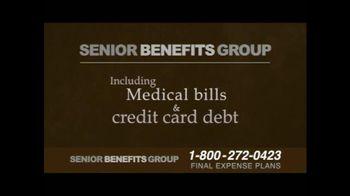 Senior Benefits Group TV Spot, 'Final Expense Plans' - Thumbnail 5
