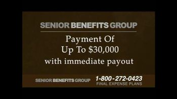 Senior Benefits Group TV Spot, 'Final Expense Plans' - Thumbnail 6